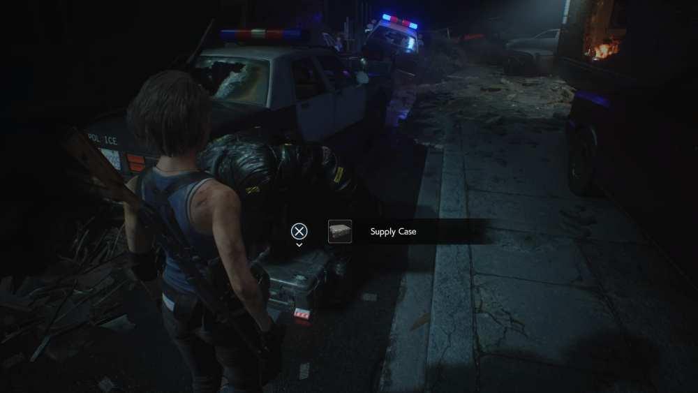 STARS Supply Cases in Resident Evil 3