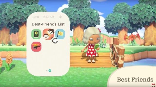 best friends in Animal Crossing New Horizons