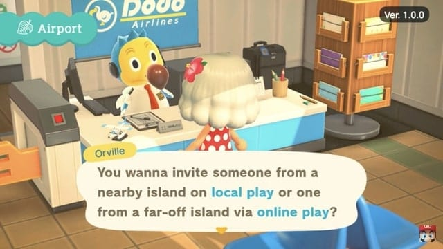 co-op multiplayer in Animal Crossing New Horizons