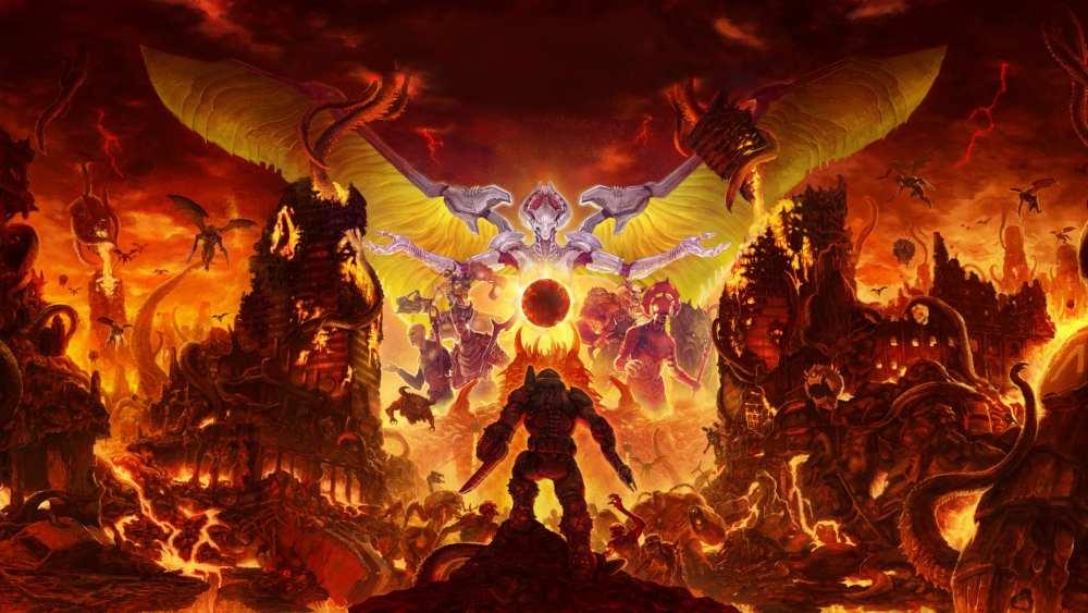 doom eternal, doom eternal wallpapers