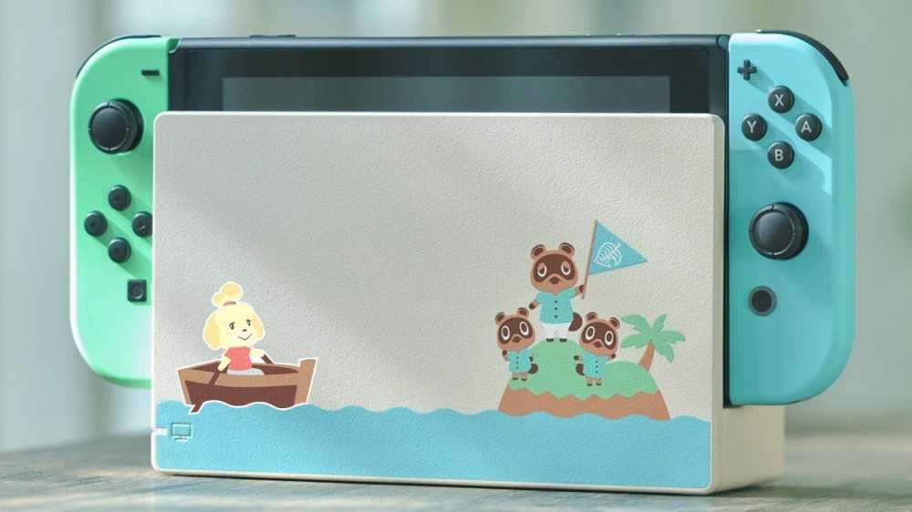 animal crossing nintendo switch console sticker etsy
