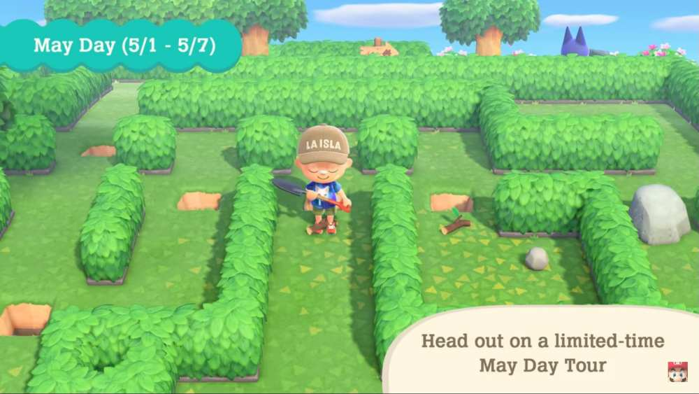 May Day Tickets in Animal Crossing New Horizons