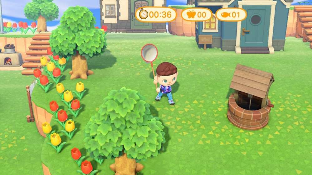 Animal Crossing New Horizons Bug Catching Tournament