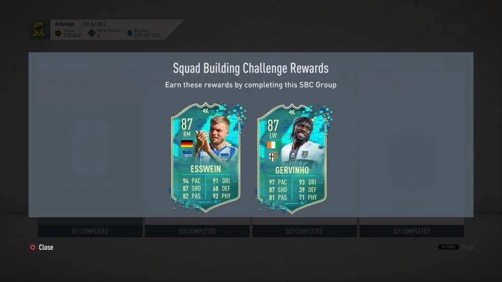 fifa 20, oldie but goldie sbc