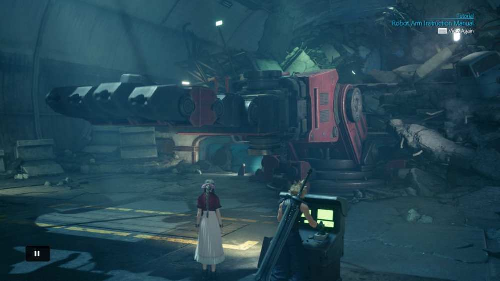 final fantasy 7 remake, robot hands