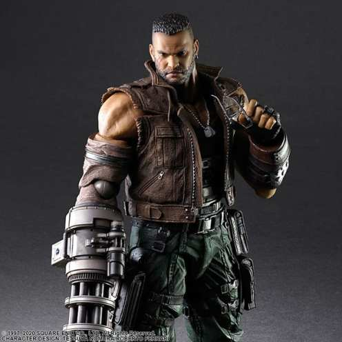 Final Fantasy VII Remake Figure Barret (2)