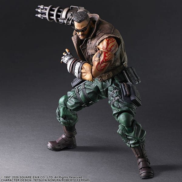 Final Fantasy VII Remake Figure Barret (4)