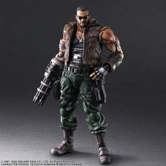 Final Fantasy VII Remake Figure Barret (5)