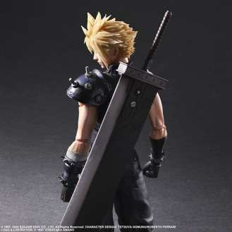 Final Fantasy VII Remake Figure Cloud (2)