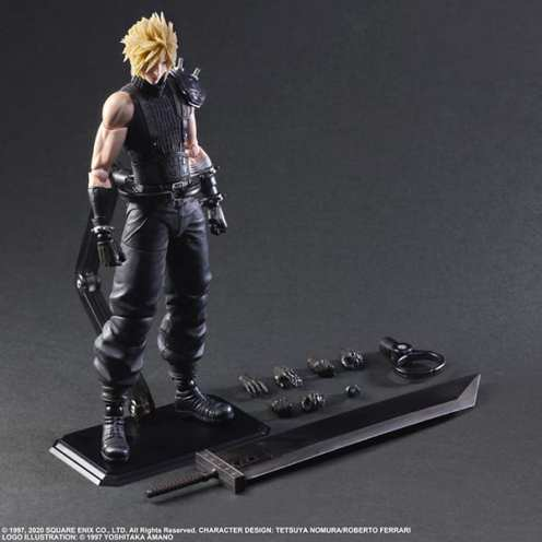 Final Fantasy VII Remake Figure Cloud (6)
