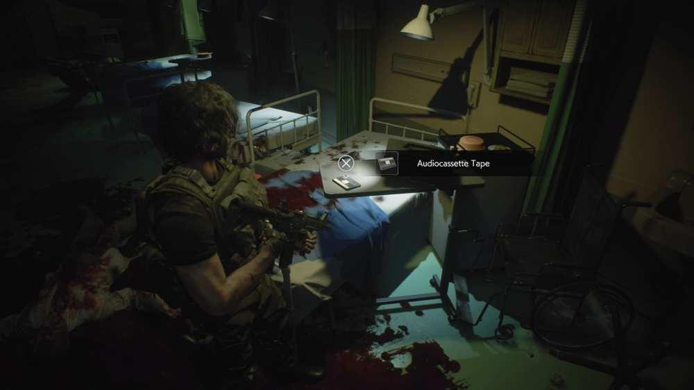 audiocasette tape in Resident Evil 3