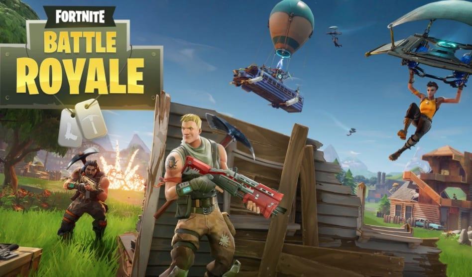 fortnite battle royale, multiplayer mobile games