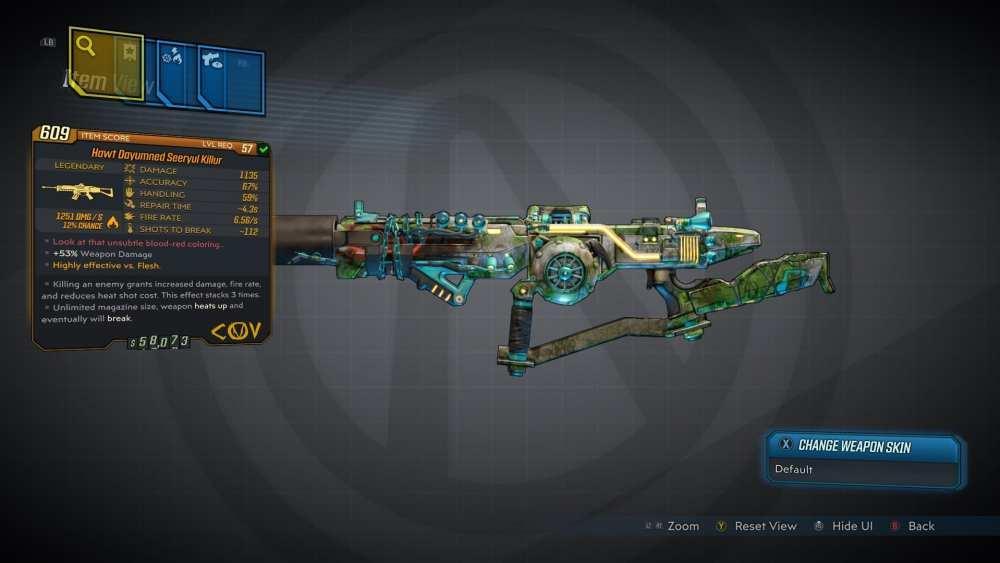 Seeryul Killur Legendary COV Assault Rifle