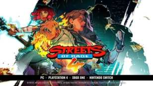 Streets of Rage 4 Gameplay Trailer