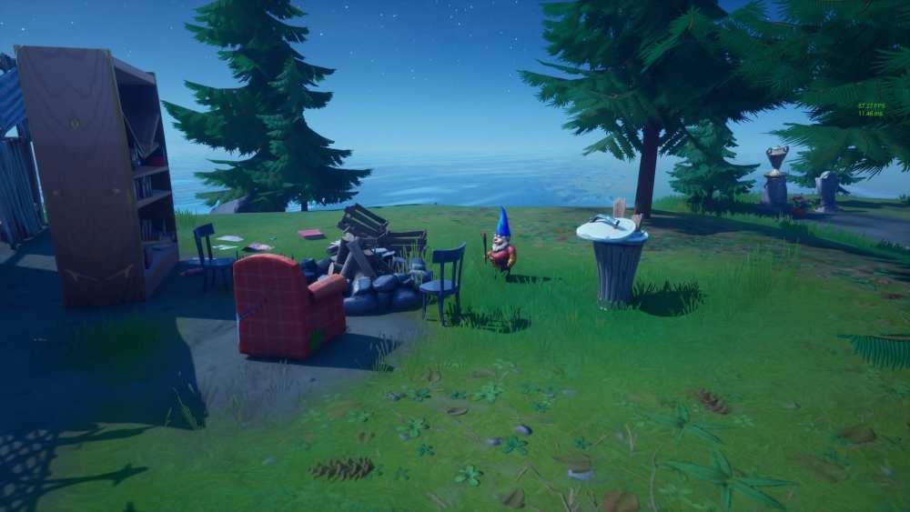 Fortnite Camp Cod Gnome locations