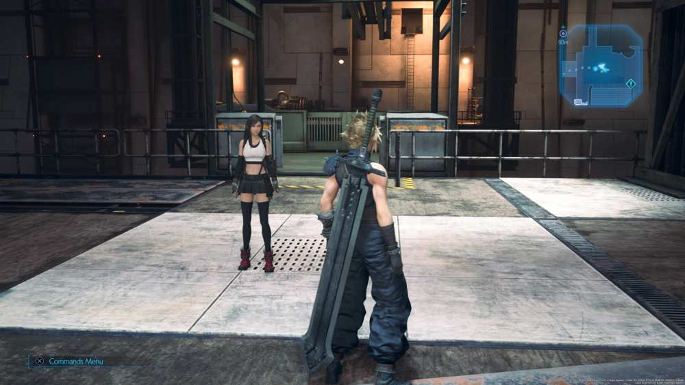 materia behind the fan, final fantasy 7 remake