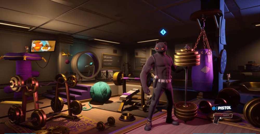 Deadpool's Pistols in Fortnite