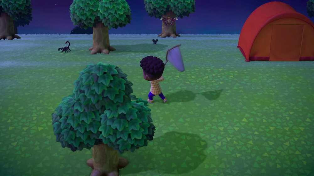 catching scorpions in animal crossing new horizons