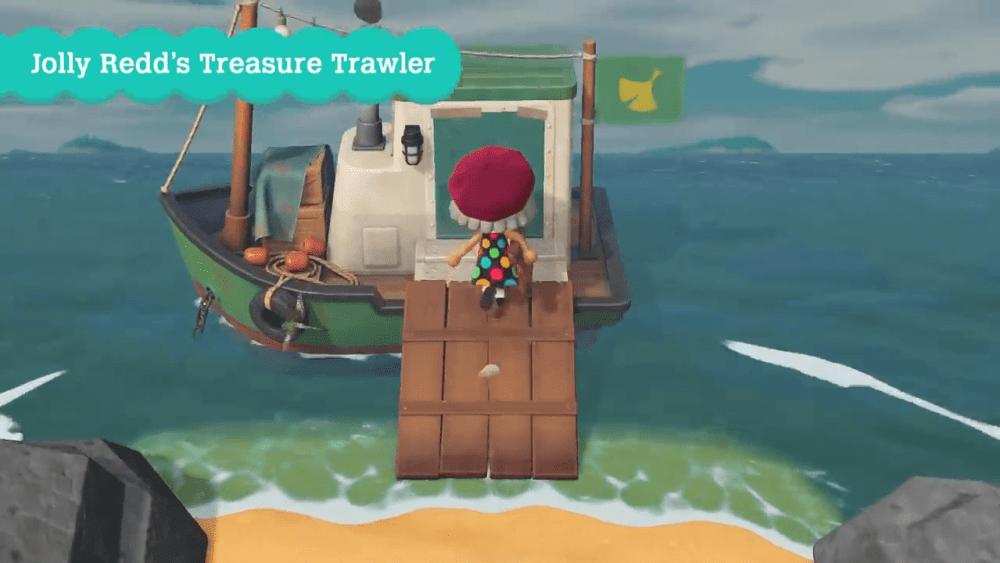 Animal Crossing New Horizons Redd Trawler