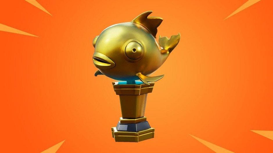 Fortnite mythic goldfish