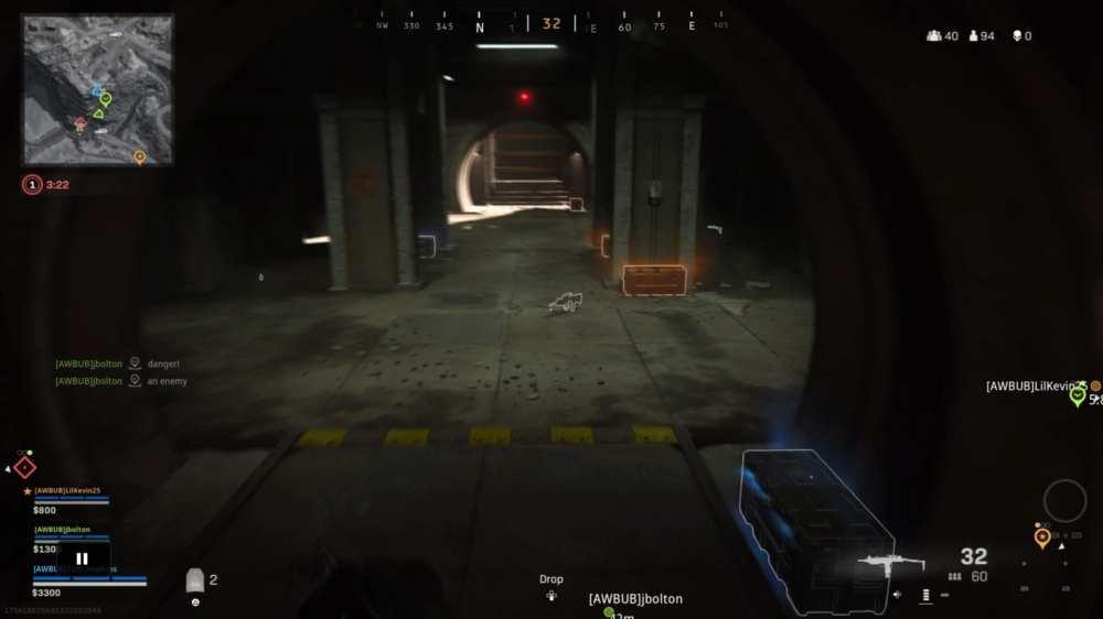 zone de guerre, cartes d'accès, bunkers ouverts