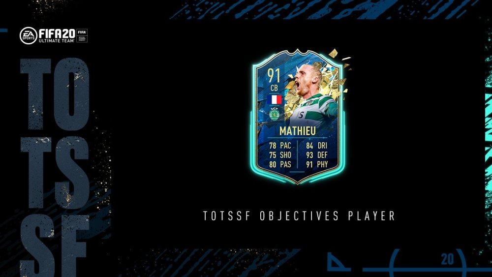 fifa 20, totssf mathieu objectives