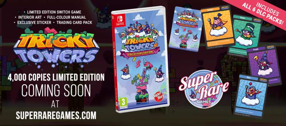 trickey towers, collector's edition