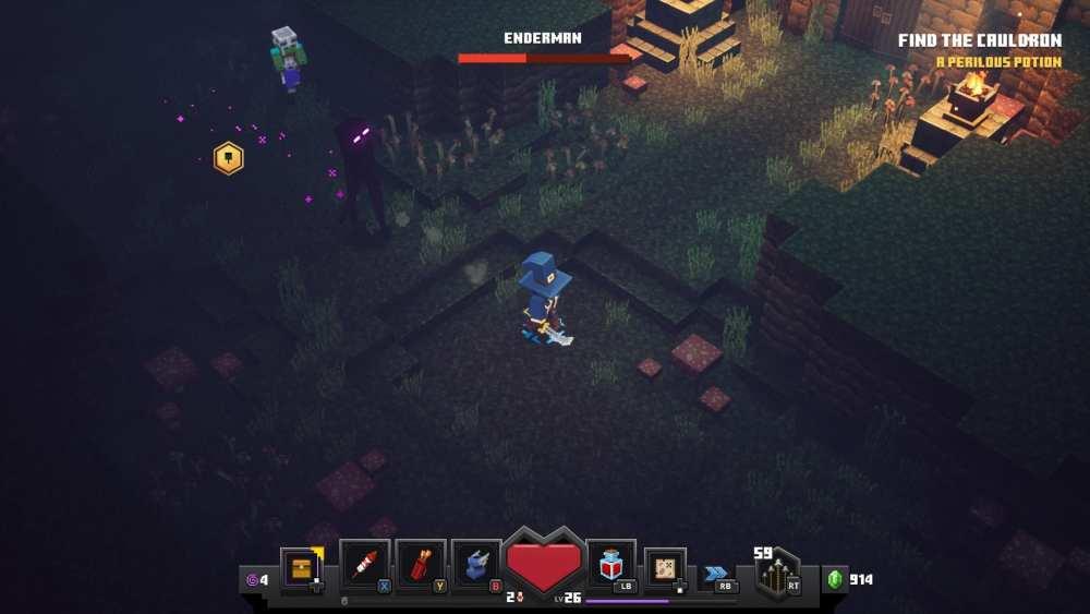 Minecraft Dungeon Endermen