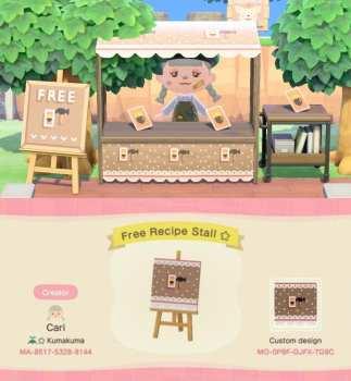 Free Recipe Stall