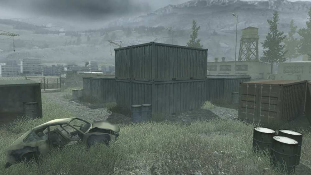 shipment, iconic call of duty maps