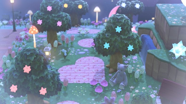 star fragment trees animal crossing new horizons