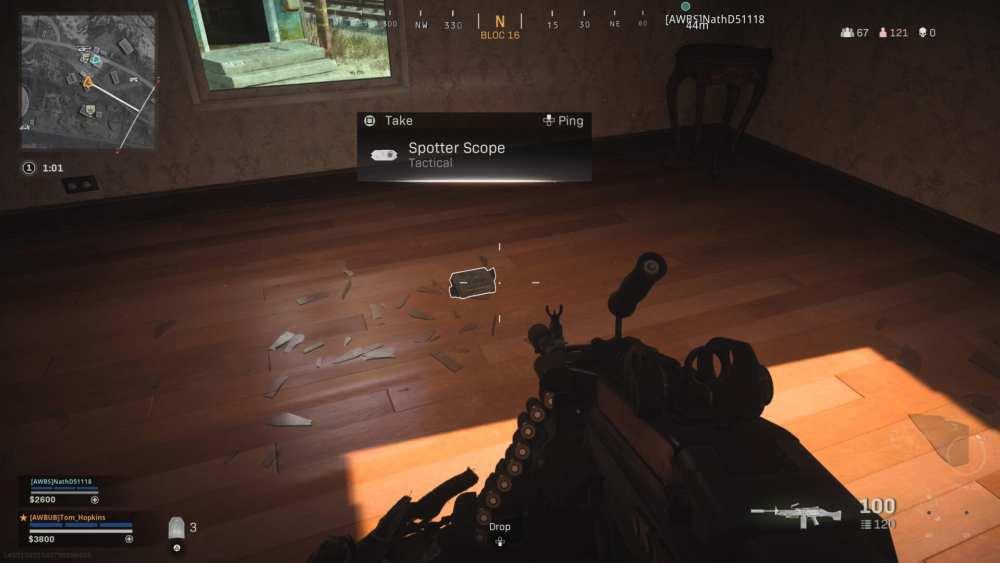 warzone, spotter scope