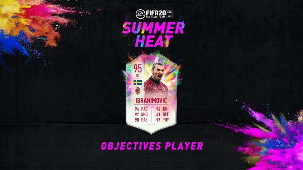 summer heat ibrahimovic, fifa 20