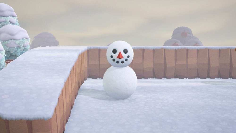animal crossing new horizons snowmen