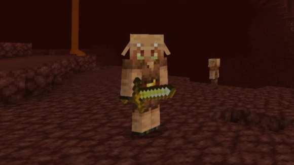 commerce avec des cochons dans minecraft