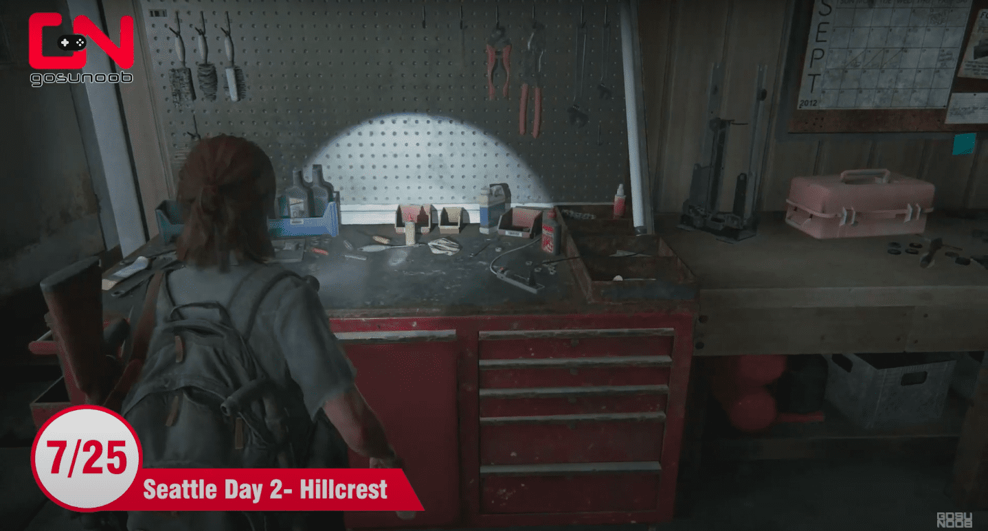 all workbench locations last of us 2