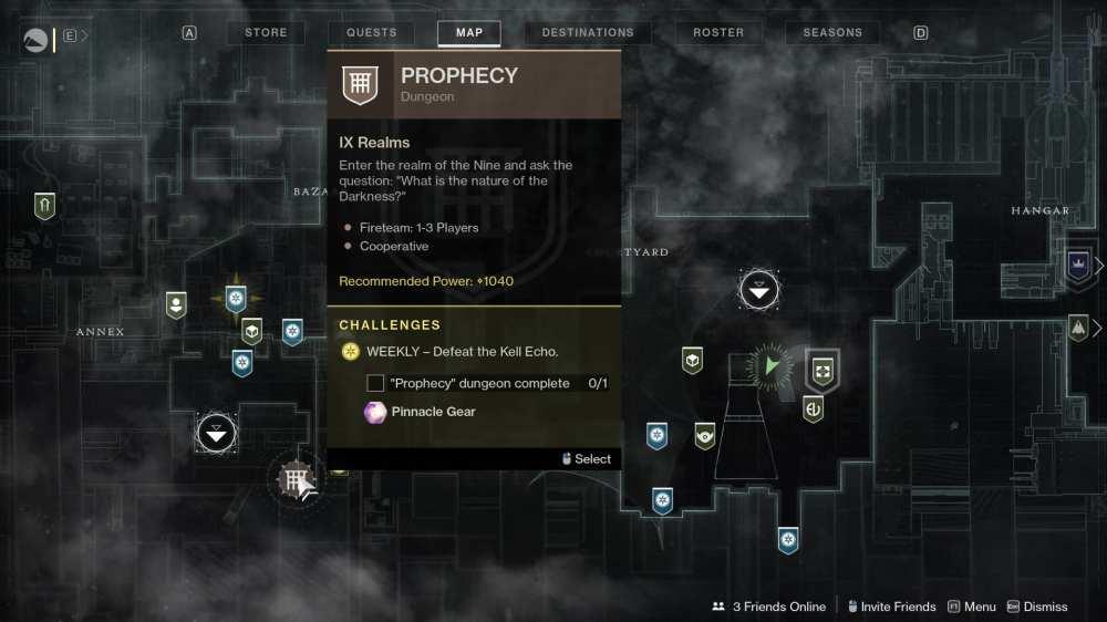 destiny 2 prophecy location
