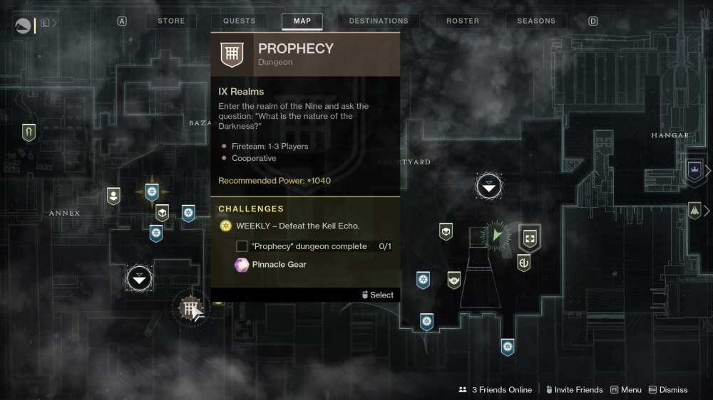 destiny 2 prophecy location