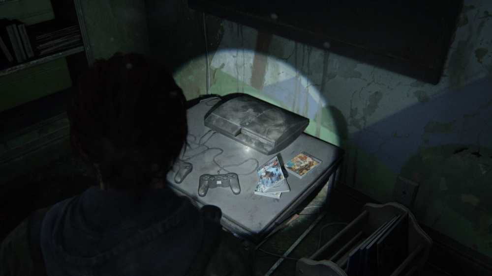 the last of us part ii easter egg, uncharted, reference