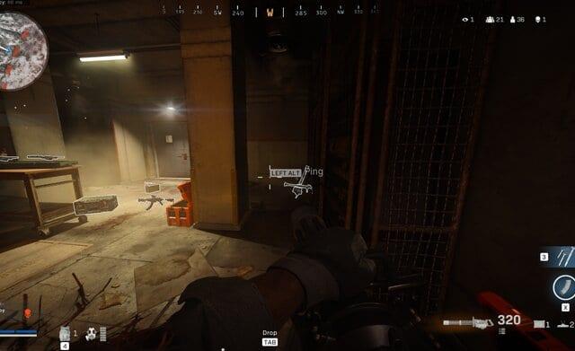 warzone, minigun
