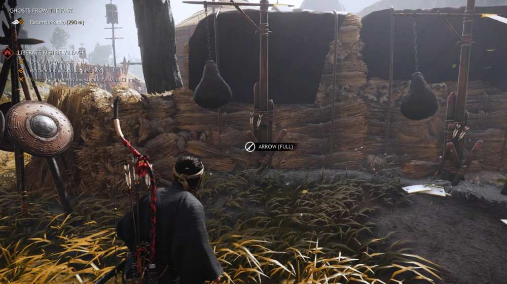 ghost of tsushima more arrows