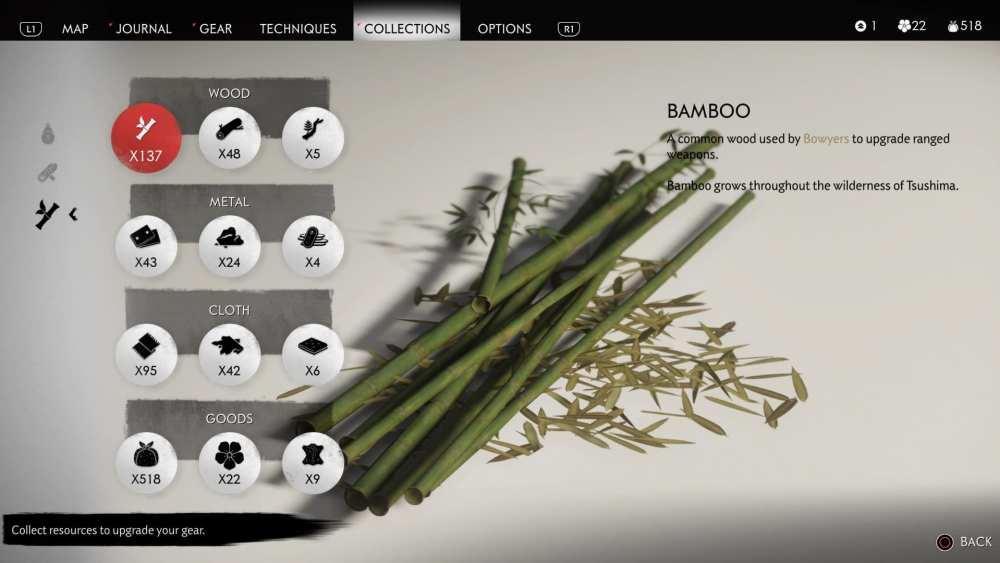 ghost of tsushima bamboo