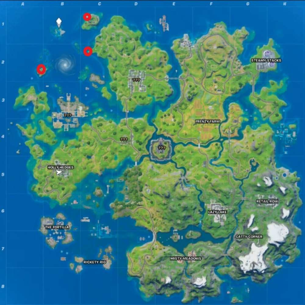 Fortnite Sculpted monument locations