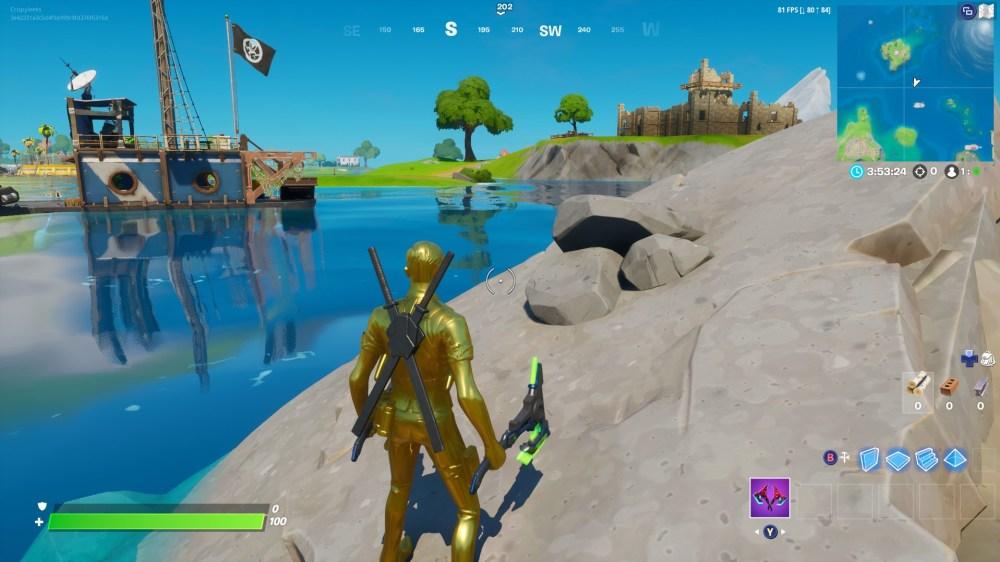 Fortnite Aquaman Trident Location