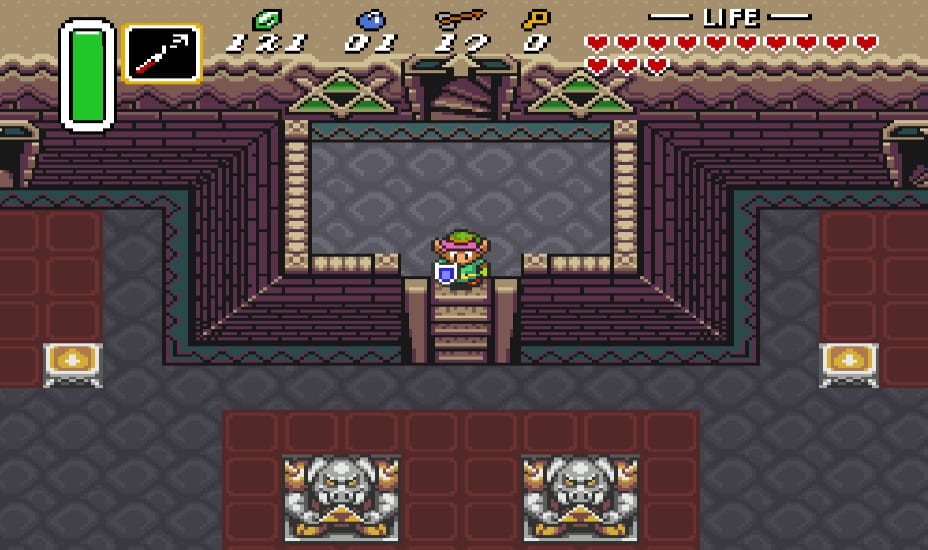 ganon's tower, a link to the past