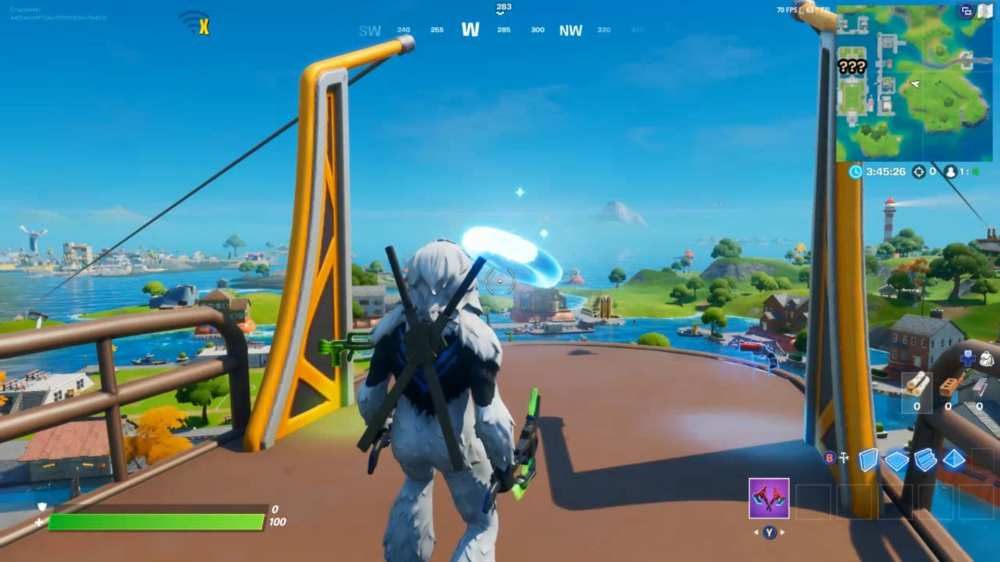 fortnite pleasant park floating ring locations
