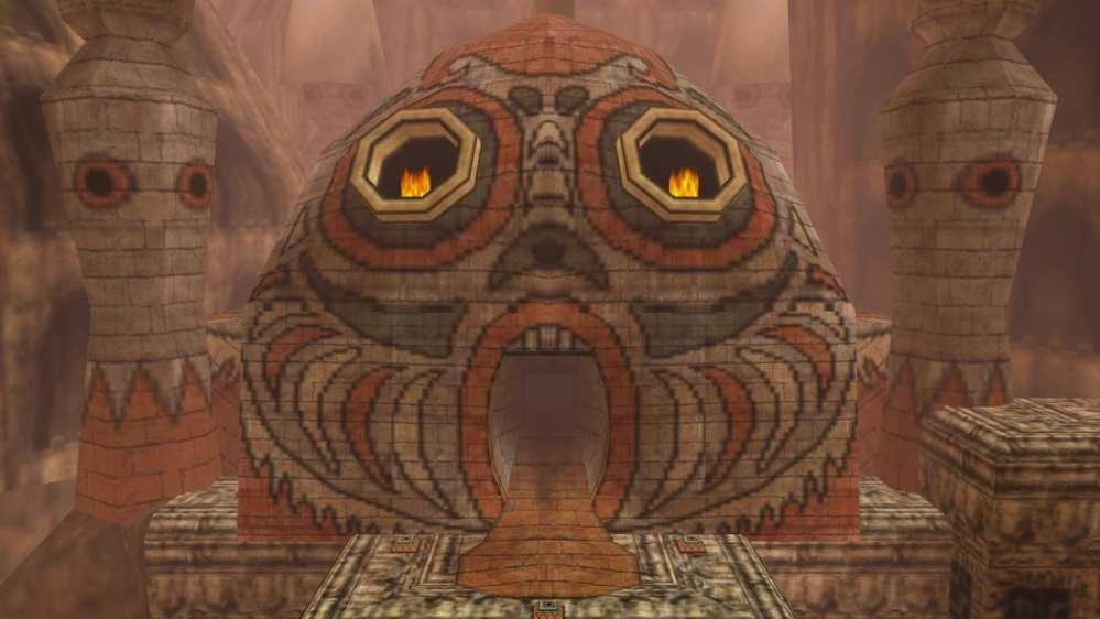 stone tower temple, majora's mask