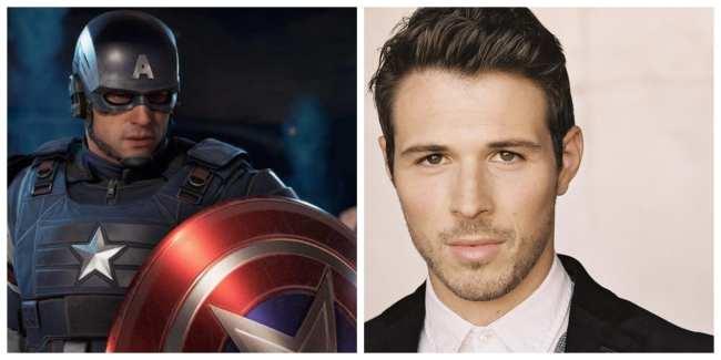 Jeff Schine - Captain America / Steve Rogers