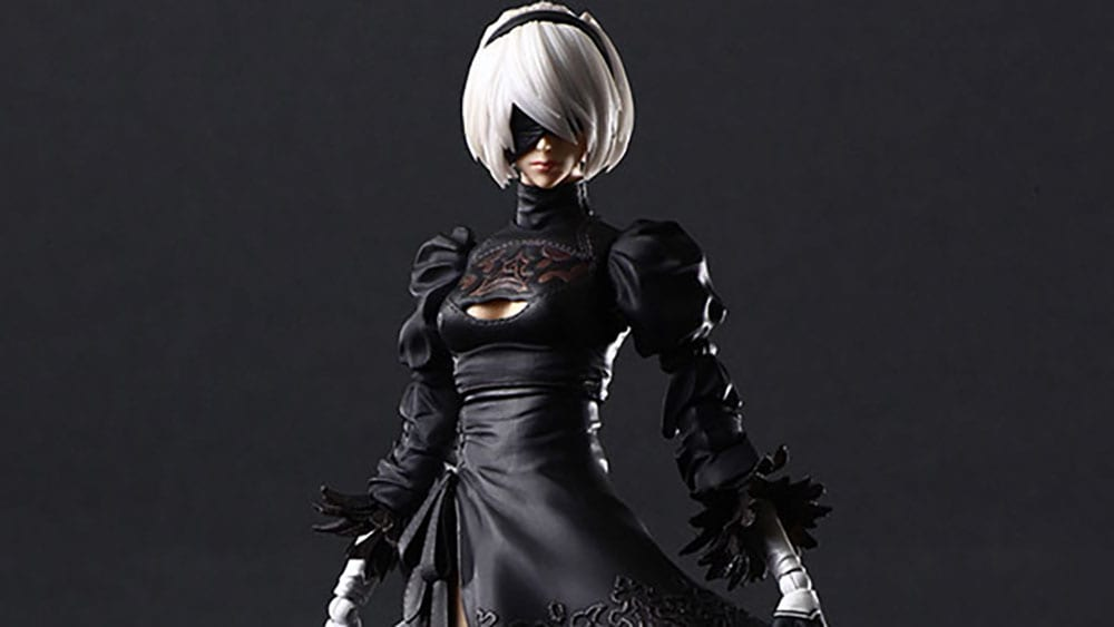 NieR: Automata Getting Beautiful New 2B Action Figure and Flight Unit Ho229 Model Kit from Square Enix