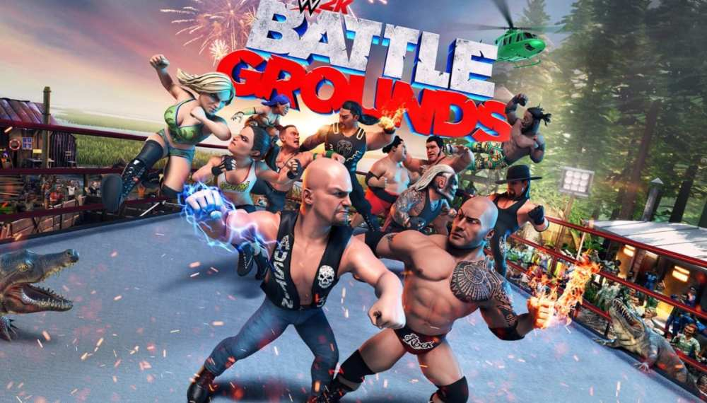 wwe 2k battlegrounds, new switch games, new switch releases, September 2020